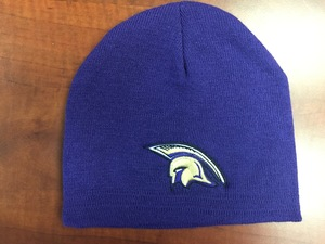 PURPLE SPARTANS BEANIE